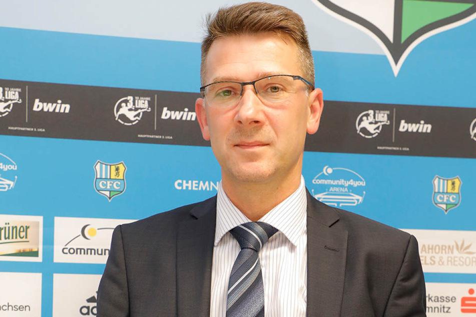 CFC-Vorstandsvorsitzender Andreas Georgi.