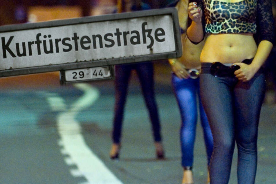 Die Kurfürstenstraße gehört zu Berlins bekanntesten Straßenstrich.