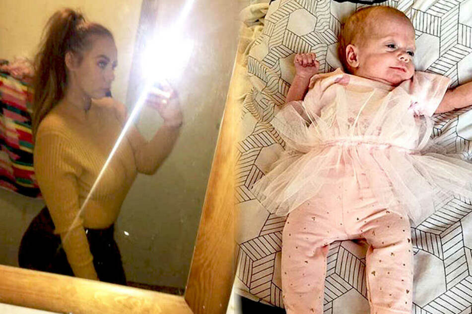 Teenie bringt Baby zur Welt: Kind ist kleiner als eine Tüte Zucker