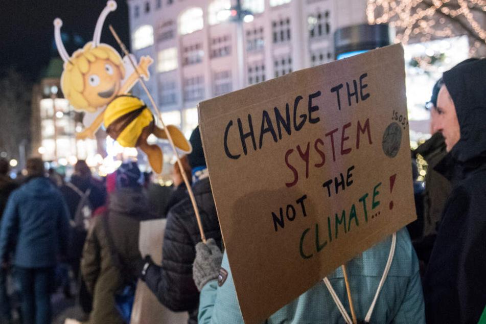 """""""Fridays for Future"""": Erste Klimademo im Jahr 2020 in Hamburg"""