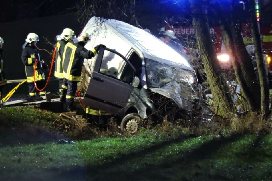 In Thümmlitz ist es am Freitag zu einem schweren Unfall gekommen.