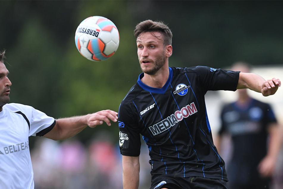 Dino Medjedovic war nach wenigen Einsätzen in der laufenden Saison kein Thema mehr in Paderborn.