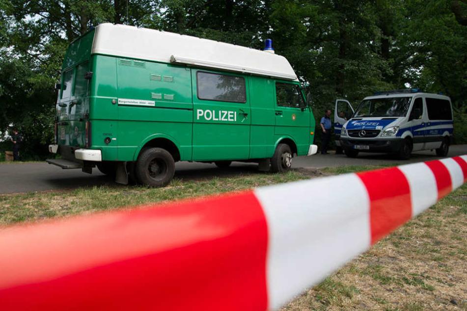 Die Polizei ermittelt zu dem Verbrechen in einem Hoyerswerdaer Asylheim (Symbolfofo).