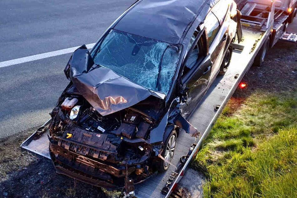 Sechs Personen wurden bei dem Unfall verletzt.