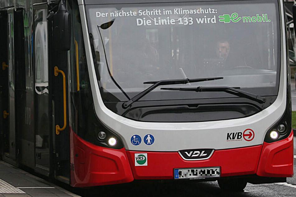 Ein Elektro-Bus der KVB. Der Nahverkehr soll umweltfreundlicher werden.