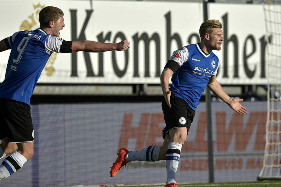 Der Jubel nach dem 1:0-Siegtreffer gegen den VfL Bochum war groß.