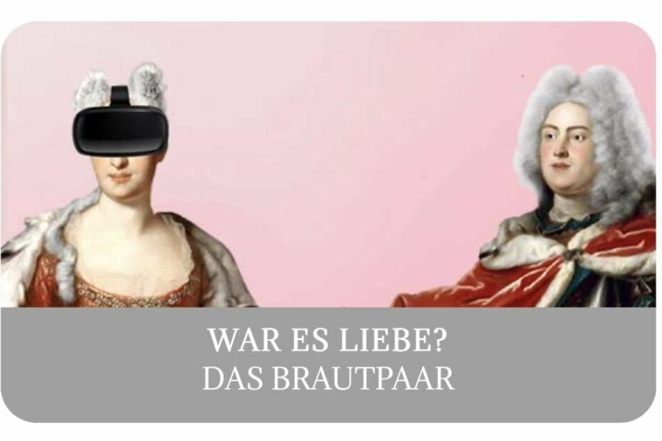 Die Habsburger Kaisertochter und der Wettiner Sachsen-Prinz.