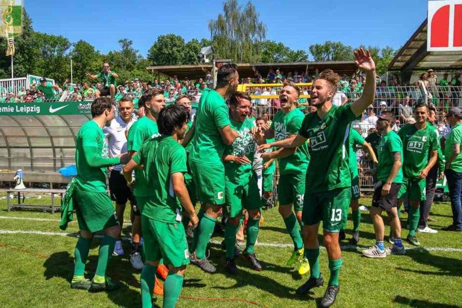Mit einem 1:0 im Sachsenpokal-Finale gegen Oberlausitz Neugersdorf konnte sich die BSG Chemie Leipzig für den DFB-Pokal qualifizieren.