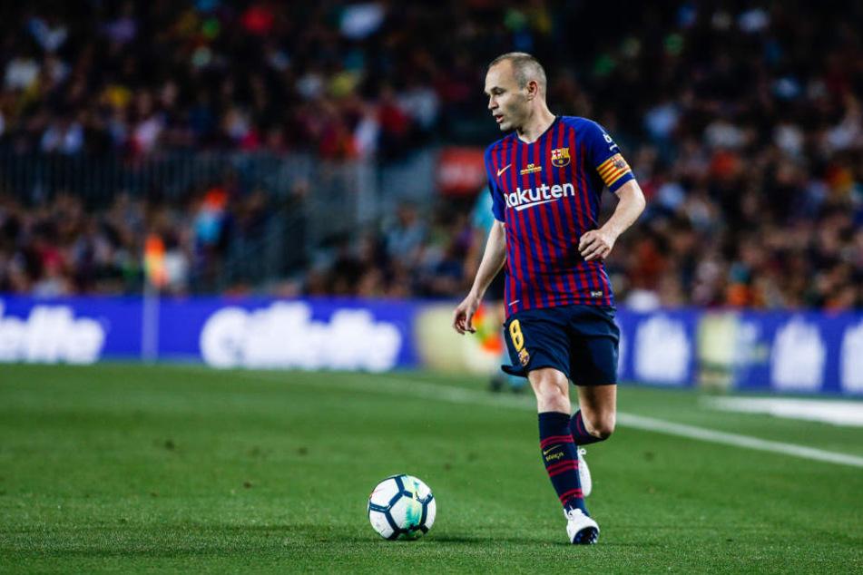 Andres Iniesta spielt nicht mehr für den FC Barcelona.