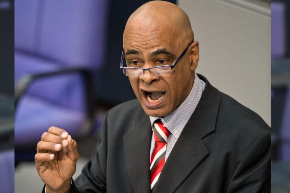 Der Politiker hält am 21.03.2014 in der Debatte über den EU-Afrika-Gipfel im Bundestag in Berlin eine Rede.