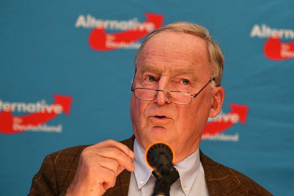 AfD-Spitzenkandidat Gauland zeigte sich von den Äußerungen Altmaiers empört.