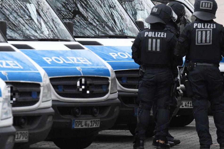 Die Polizei-Aktion findet in zehn Bundesländern gleichzeitig statt (Symbolbild).