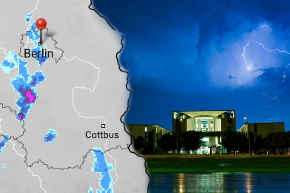Berlin: Wetterdienst warnt vor starkem Unwetter in Berlin und Brandenburg