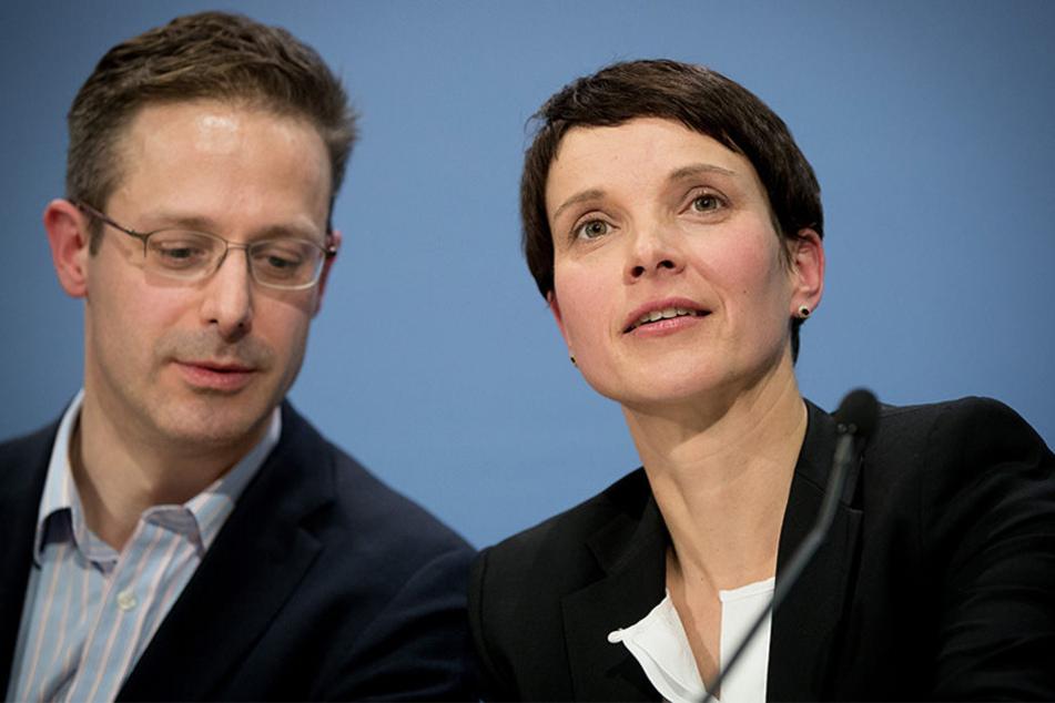 Marcus Pretzell und Frauke Petry werden in Bielefeld erwartet.