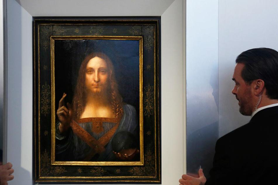 Rund 100 MiIlionen Dollar könnte das Gemälde bei einer Versteigerung einbringen.