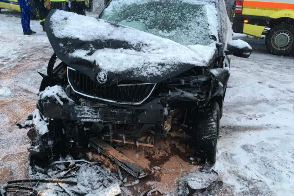 Die Fahrerin des Skoda wurde ebenfalls verletzt.