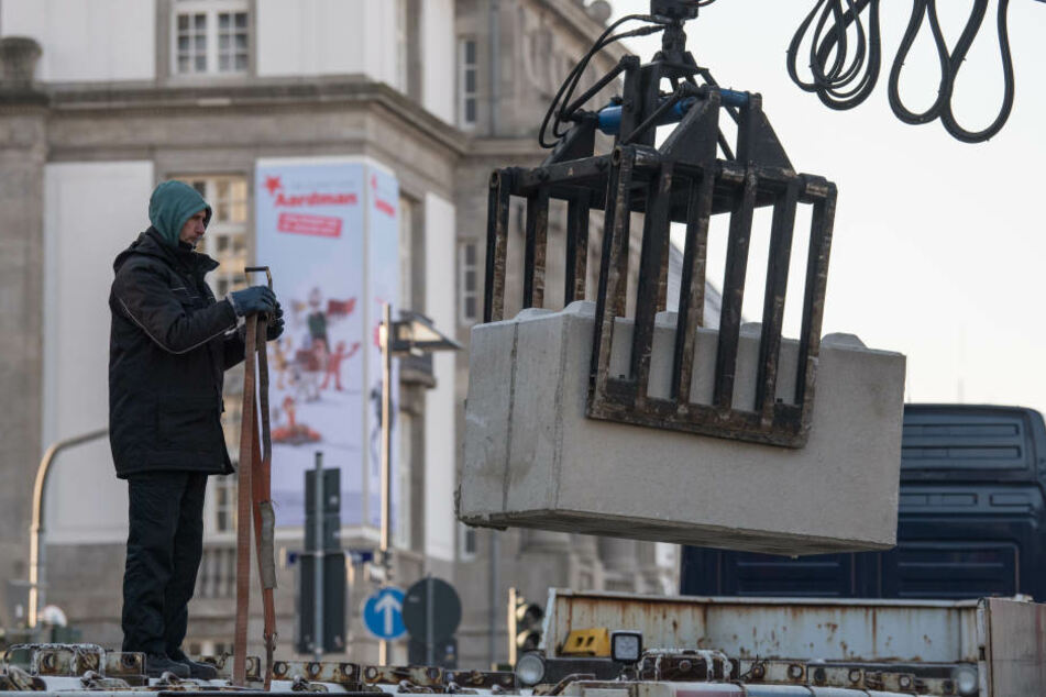 Anti-Terror-Maßnahmen in Frankfurt: Poller an Hauptwache und Opernplatz