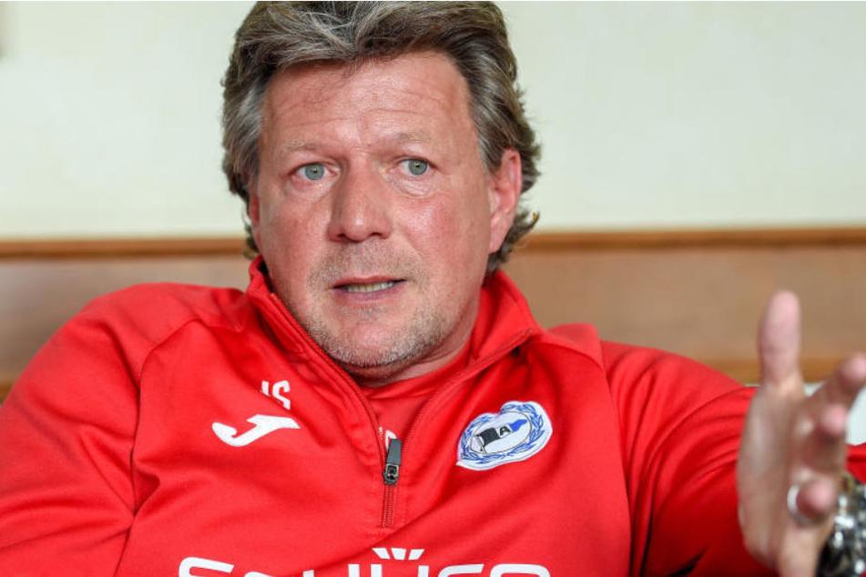 Jeff Saibene freut sich auf den Auftakt gegen Greuther Fürth.