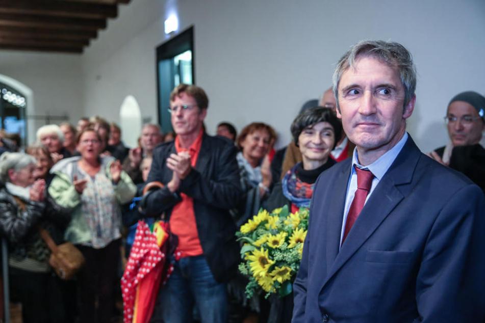 Frank Richter will bei der Landtagswahl antreten.