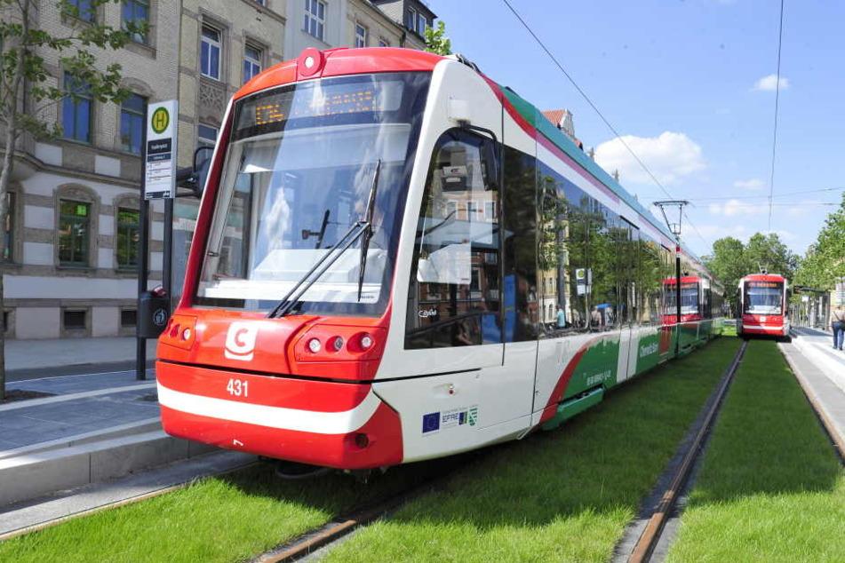 Ab 2030 sollen Citylinks über die Leipziger Straße bis nach Limbach-Oberfrohna fahren.