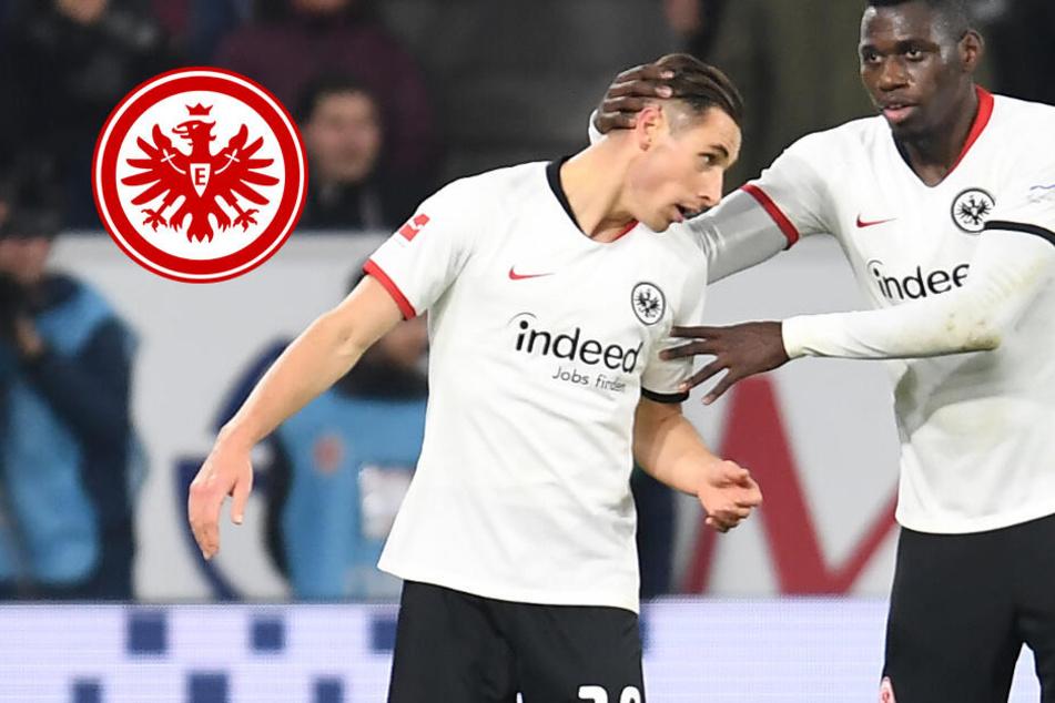 Nach Rot im Pyro-Chaos-Derby in Mainz: So lange fehlt Dominik Kohr der Eintracht