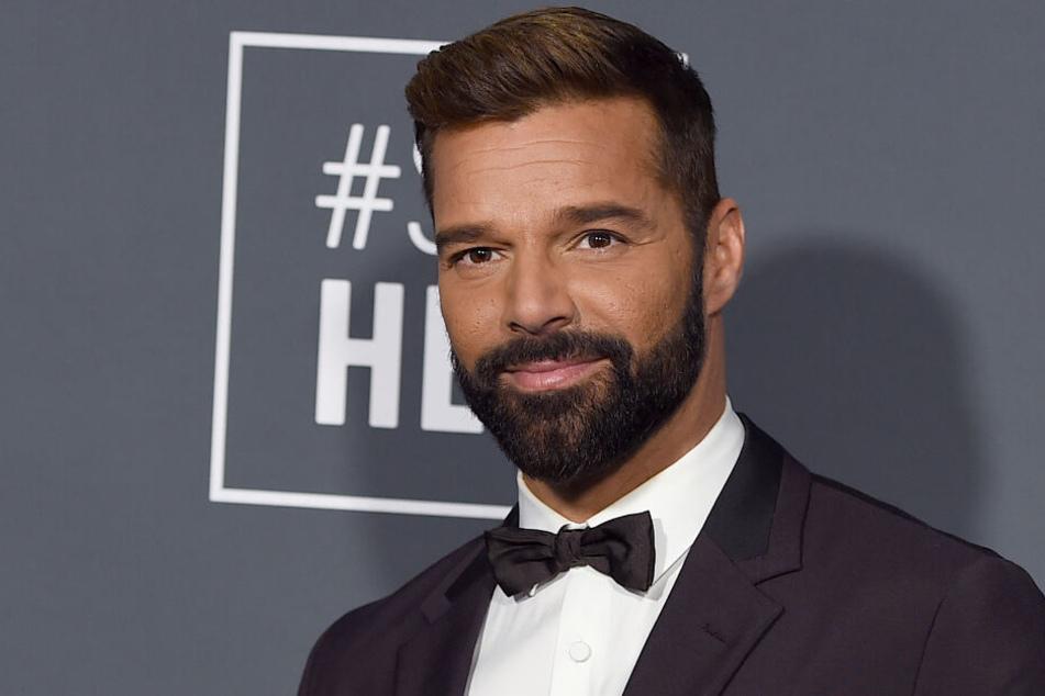 Ricky Martin (47), Der Sänger aus Puerto Rico, kommt zu den 24. Critics' Choice Awards.