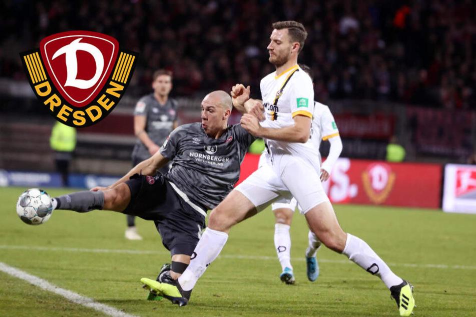 Dynamo verliert auch in Nürnberg und verpasst Anschluss