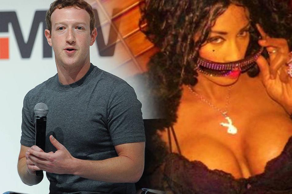 Ex-Pornostar verklagt Mark Zuckerberg auf eine Milliarde Dollar