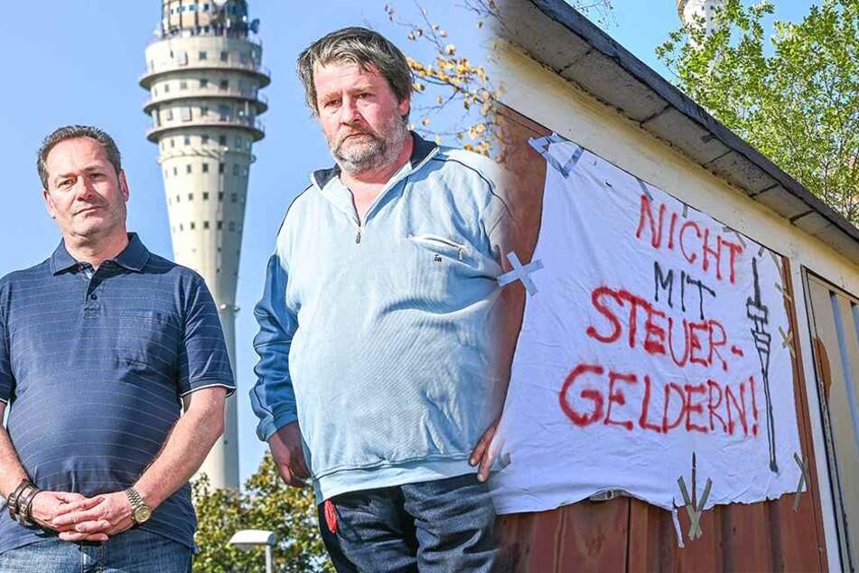 Wiedereröffnung des Fernsehturms: In Wachwitz regt sich der Widerstand