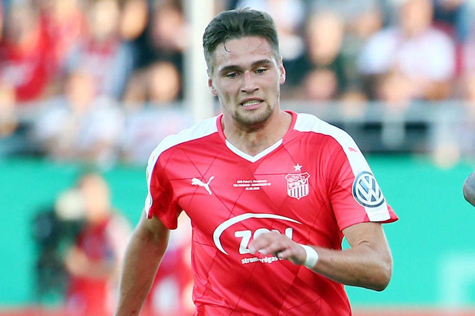 Jonas Nietfeld will es am Sonntag seinem Ex-Verein Erfurt zeigen.