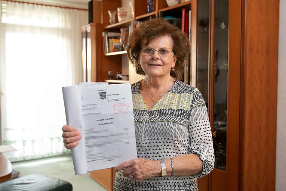 Erste Klage erfolgreich: Mieterin Ingrid Kunisch aus Dresden setzte ihr Recht auf Belegeinsicht gegen Großvermieter Vonovia gerichtlich durch.