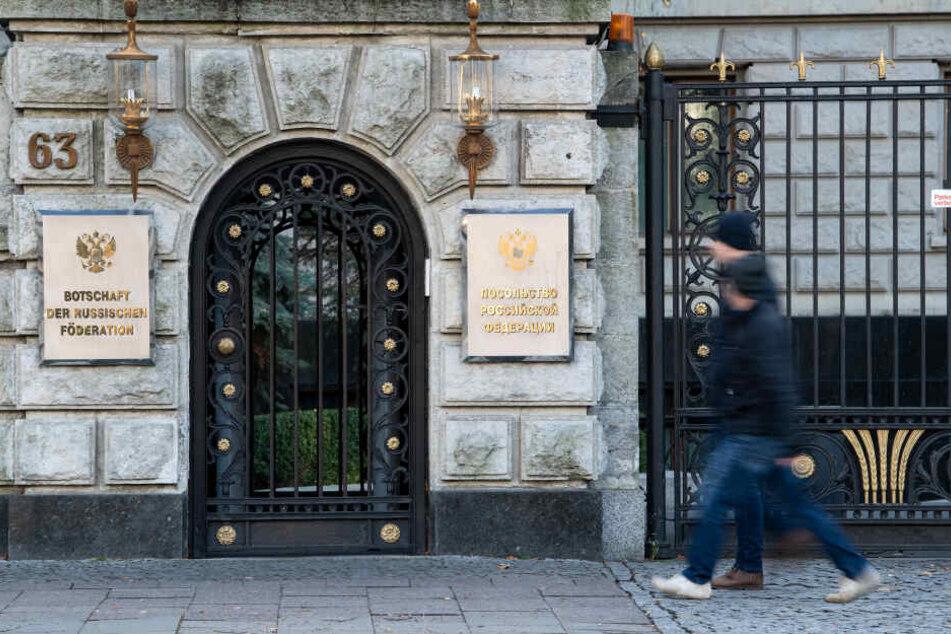 Deutschland wies am gestrigen Mittwoch russische Diplomaten aus.