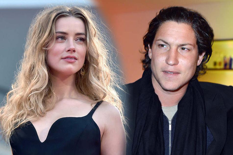 Was läuft da zwischen Amber Heard und Vito Schnabel? Paparazzi-Fotos haben die Gerüchte über eine Affäre der beiden angeheizt.
