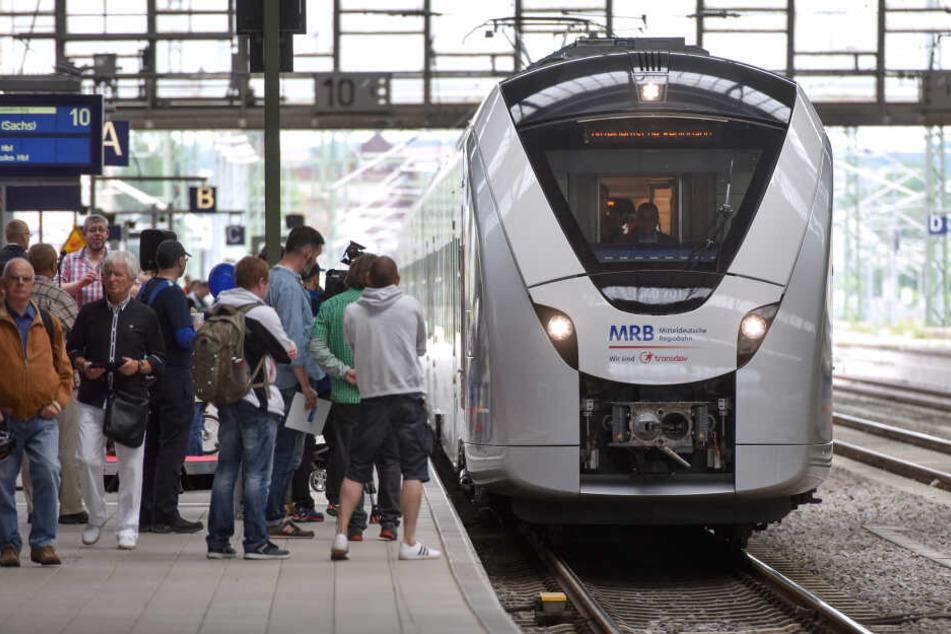 Die RB45 ((Chemnitz – Riesa – Elsterwerda) fährt ab dem 03. Mai 2020 aufgrund von Bauarbeiten nach einem geänderten Fahrplan (Archivbild).