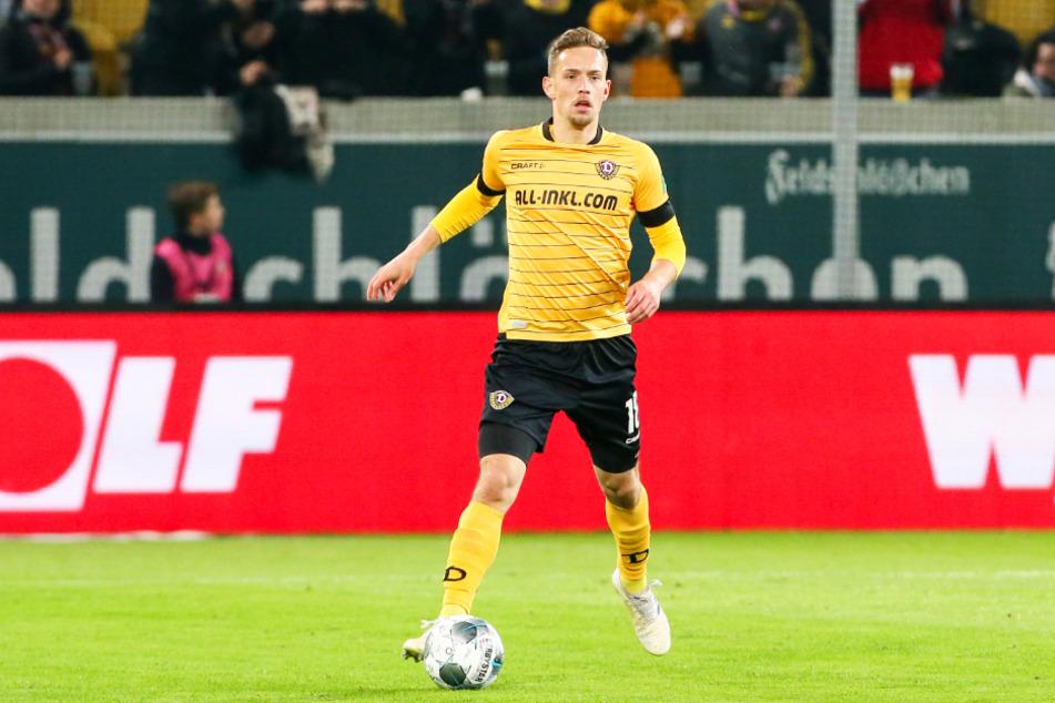 Ex-Dynamo Jannik Müller tritt mit Dunjaská Streda am Donnerstag beim österreichischen Vertreter Linzer ASK an.