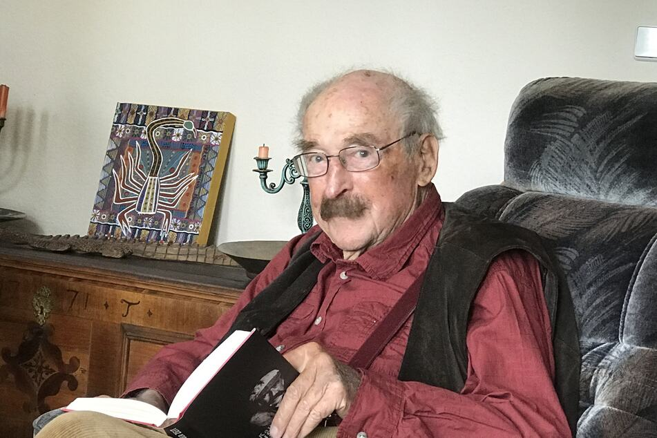 Schriftsteller Walter Kaufmann (†97).