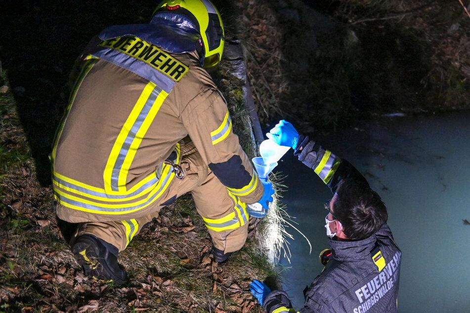 Milchige Flüssigkeit in Bautzner Teich: Übeltäter schnell ermittelt
