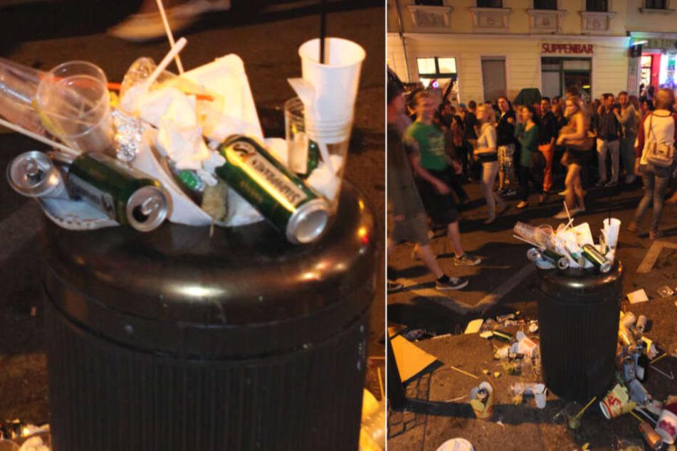 Mülleimer voller Einwegverpackungen sollen der Vergangenheit angehören.