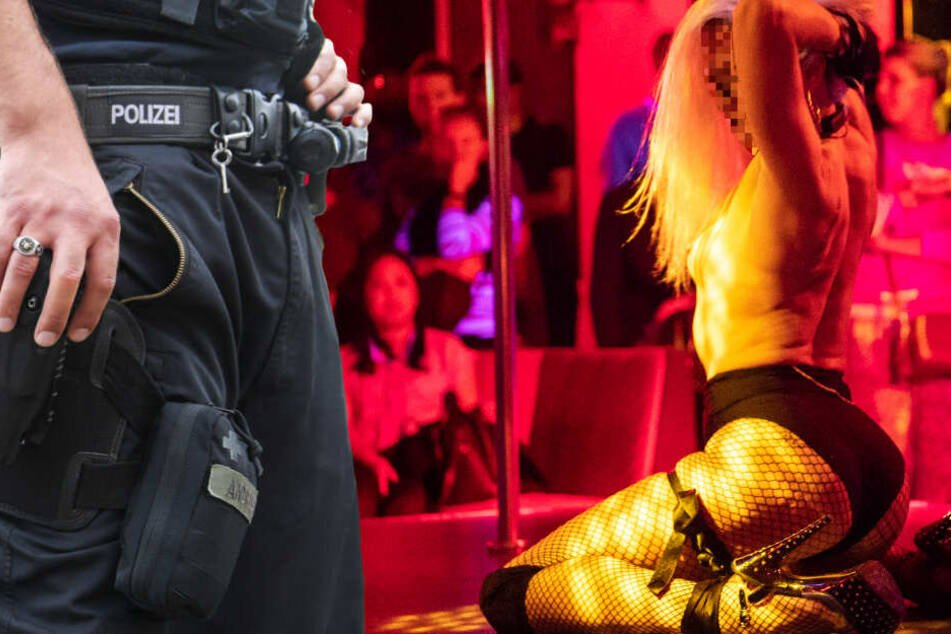 Nach Raubüberfall auf Bordell: Die Polizei fahndet nach drei Männern (Symbolbild).