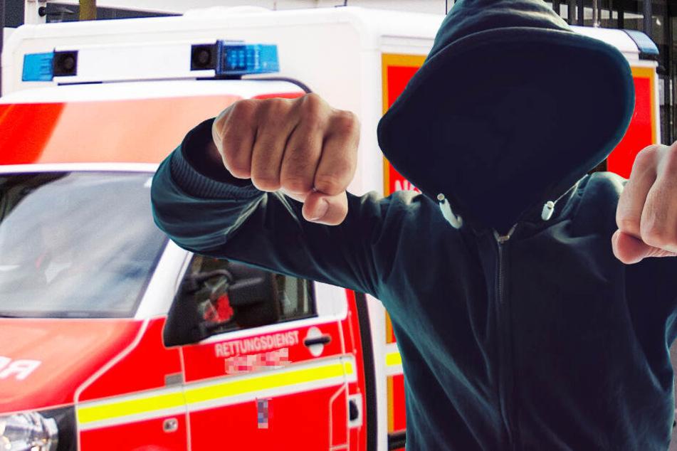 Autofahrer rastet aus: Sanitäter im Einsatz attackiert