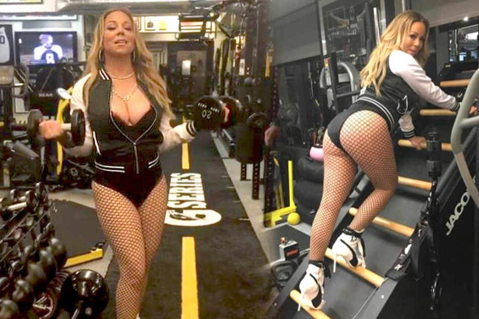 Mariah Carey zeigt, worauf es beim Sport WIRKLICH ankommt