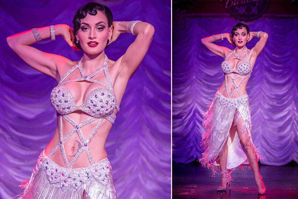 Wer würde bei Ritas Anblick nicht an Tänzerinnen wie Josephine Baker denken?