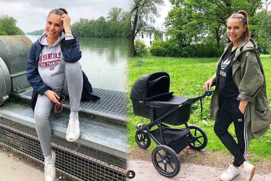 Mutterfreuden bei schöner Sky-Moderatorin: Esther Sedlaczek ist Mama