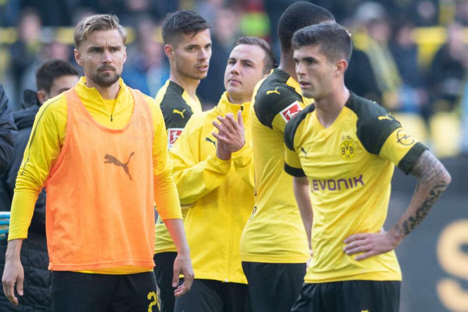 Kam vergangene Saison nur zu neun Bundesliga-Einsätzen für den BVB. In der laufenden Spielzeit waren es lediglich drei Minuten.