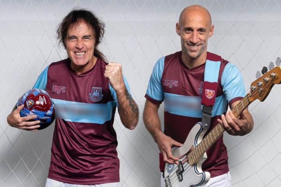 Heavy-Metal-Band ist jetzt Brust-Sponsor bei Fußballverein