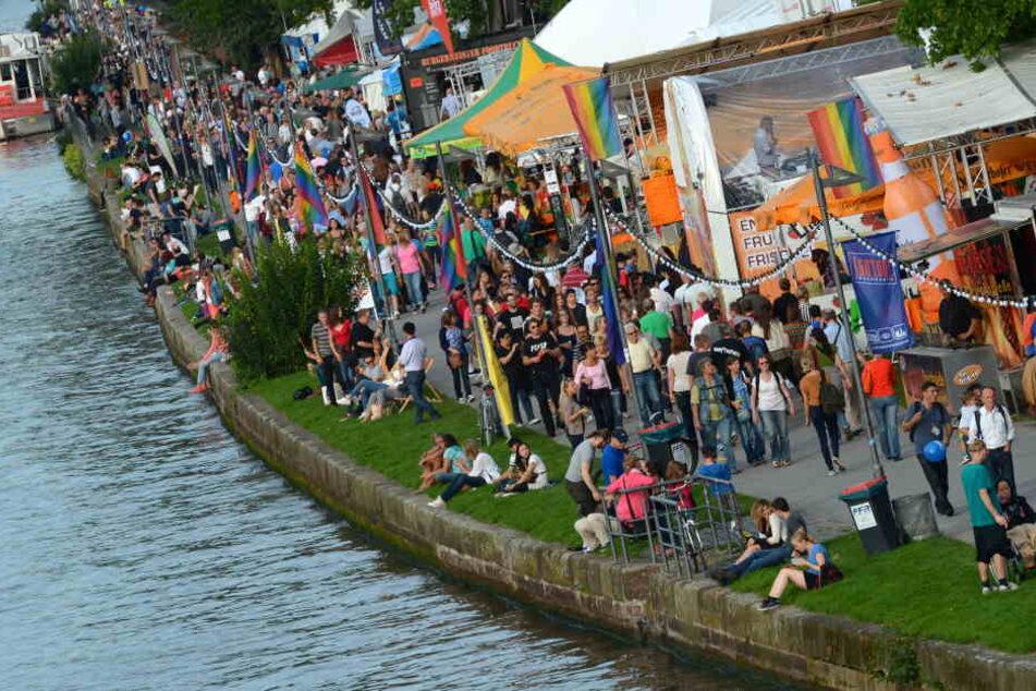 Das Museumsuferfest zieht jedes Jahr tausende Besucher an.