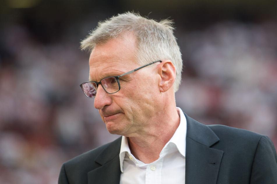 Reschke verteidigte seine Transfers für den VfB Stuttgart.