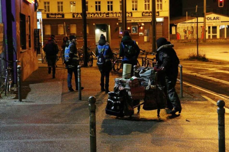 In Berlin wurden Obdachlose gezählt.