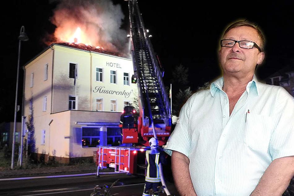 So schlimm steht es um den Husarenhof nach der Brandkatastrophe