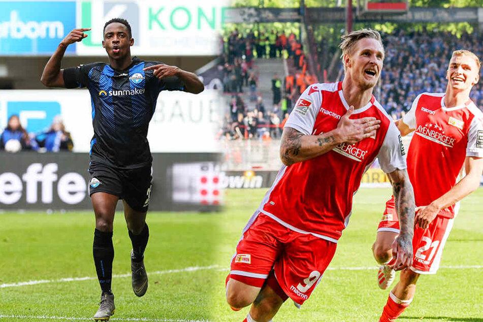 Der SC Paderborn 07 ist aufgestiegen! Der 1. FC Union Berlin bekommt es in der Relegation mit dem VfB Stuttgart zu tun.